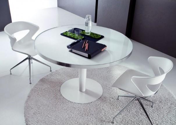 Table de réunion Odéon ronde