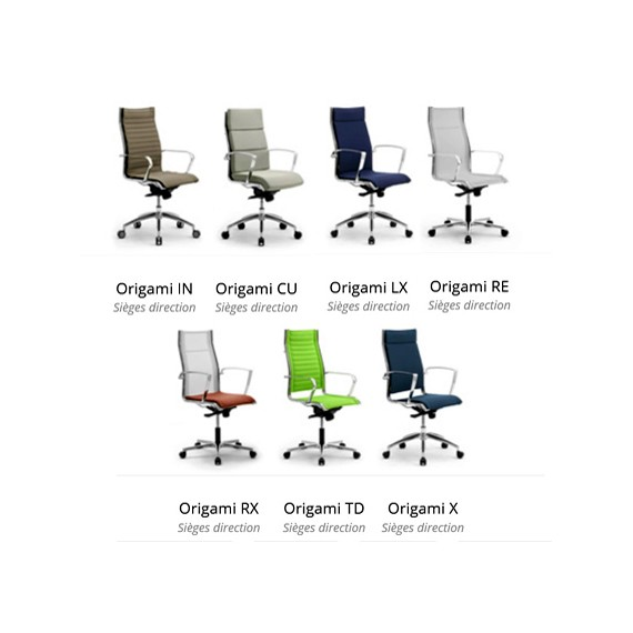Origami - Fauteuils de direction haut de gamme et design