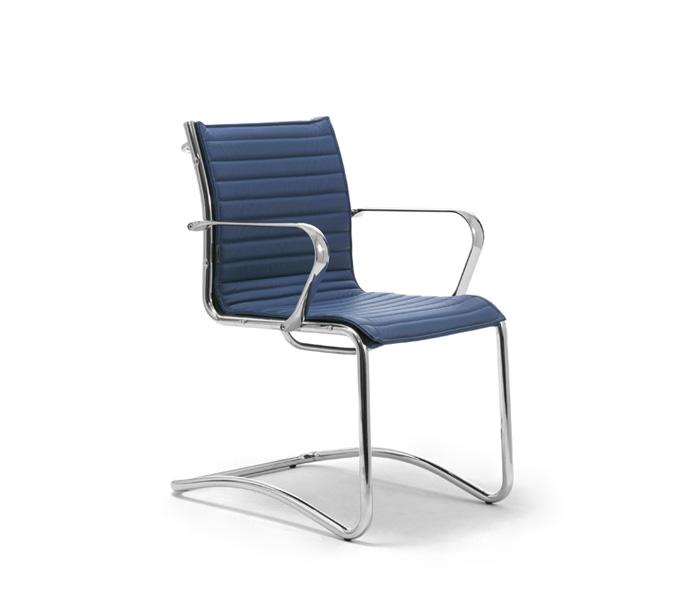 Le Fauteuil origami IN Haut Dossier classique est à la fois un fauteuil de conférence, un fauteuil de travail